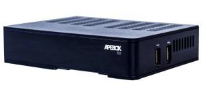 APEBOX C2 COMBO DVB-S2 + DVB-T2/C H.265 IPTV