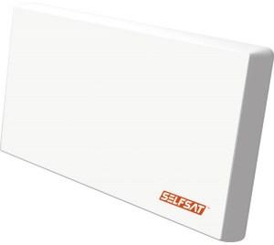 Selfsat - H22D2 antena płaska - z LNB Twin