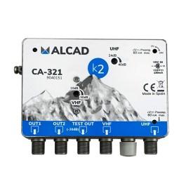wzm. wielozakresowy ALCAD CA-321 24-230V VHF UHF