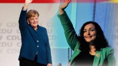 Photo of Vjosa Osmani është Angela Merkel e Kosovës