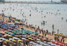 """Photo of Shqiptarët e Kosovës nuk e """"tradhtojnë"""" plazhin e Durrësit"""