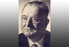 Photo of Ernest Koliqi, delegat i qeverisë së Tiranës pranë asaj të Romës