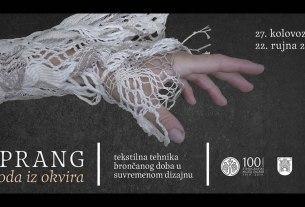 """Izložba """"Sprang - moda iz okvira"""" / Etnografski muzej Zagreb"""
