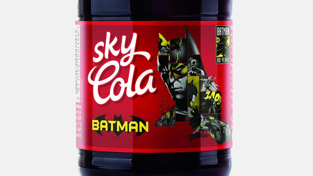 sky cola batman / 2019.