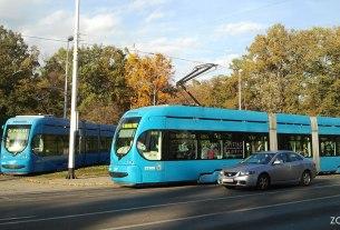 tramvajsko okretište maksimir / zagreb, listopad 2013.