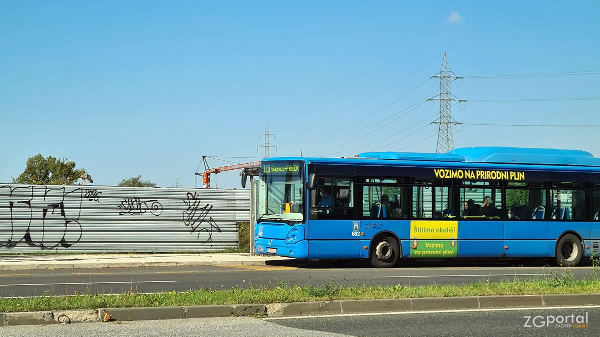 120 črnomerec - gajnice - prečko / zet zagreb / bus iveco citelis 12m cng / listopad 2020.