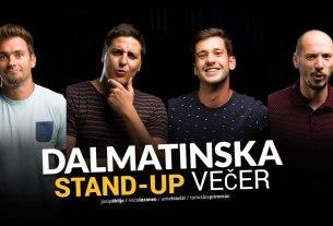 dalmatinska stand up večer