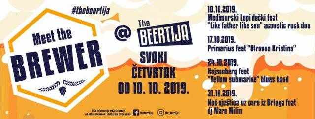 Meet the Brewer / The Beertija