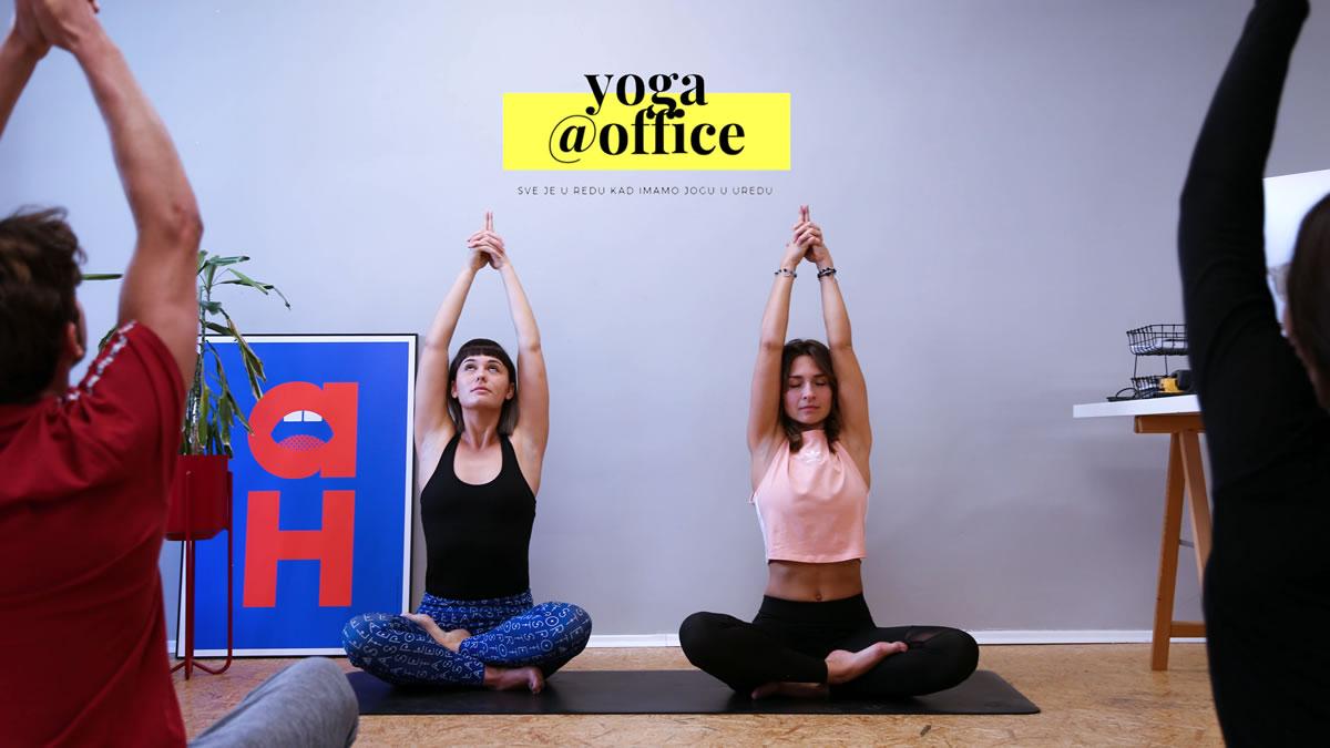 Yoga@Office / Tena Cuculić i Nikolina Milošević