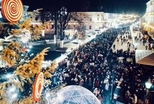 bajka na ledenom orionu / advent u vinkovcima 2019