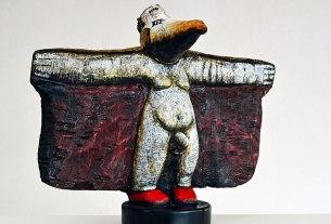 božo terziić / antropomorfizirana skulptura u drvu