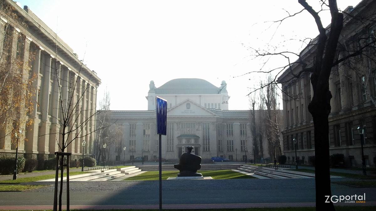 hrvatski državni arhiv / marulićev trg, zagreb / prosinac 2012
