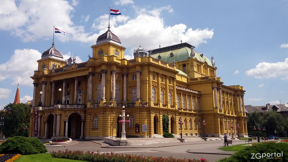 hrvatsko narodno kazalište zagreb / lipanj 2015.