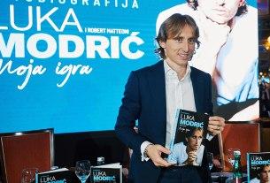 luka modrić - moja-igra / promocija u hotelu esplanade zagreb 2019