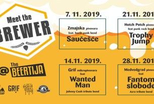 meet the brewer / the beertija zagreb / studeni 2019.