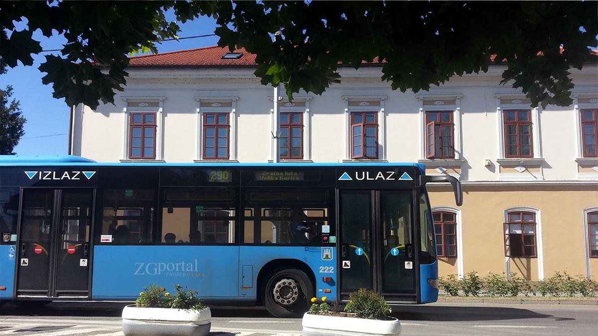 zet bus 290 velika gorica - kvaternikov trg / lipanj 2017