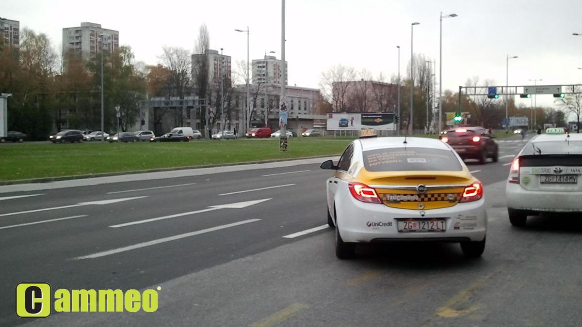 cammeo taxi zagreb - opel insignia - studeni 2013.
