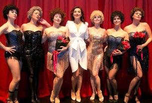 """cabaret """"preko veze"""" - glumačka postava 2020"""