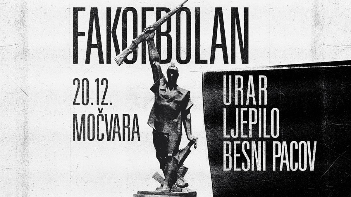 fakofbolan - urar - ljepilo - besni pacov / močvara 2019.