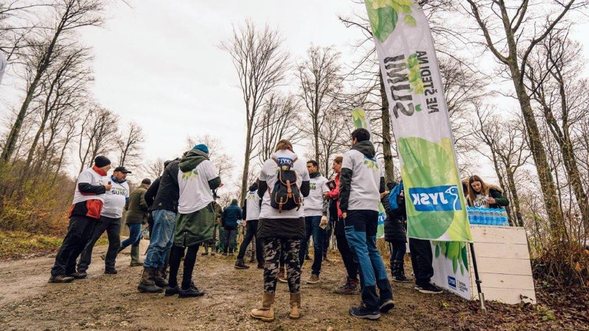 "jysk - akcija pošumljavanja ""ne štedi na šumi"" / medvednica 2019"
