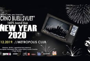 new year 2020 - metropolis klub zagreb