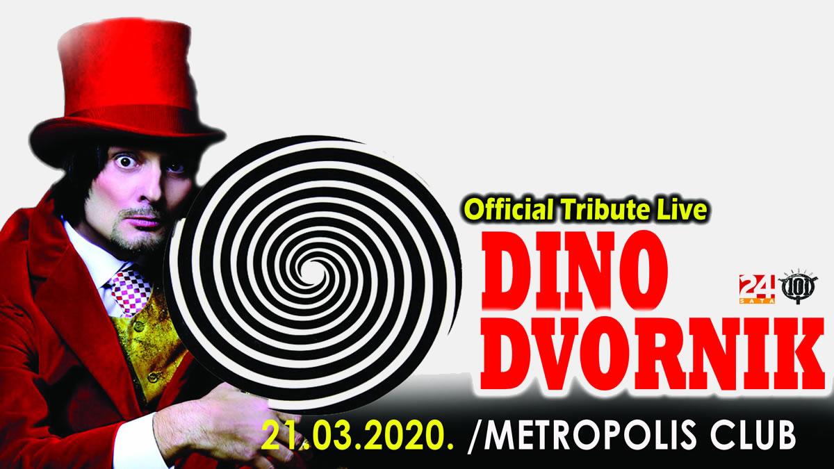 dino dvornik tribute band - metropolis klub - 2020