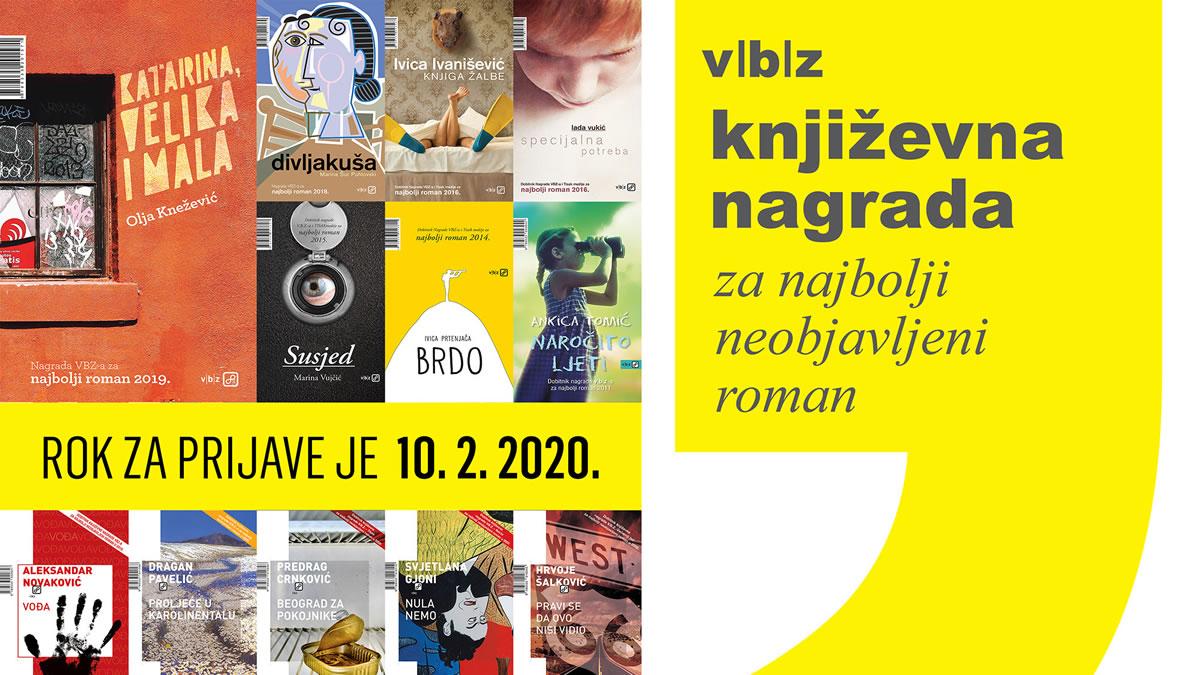 književna nagrada v.b.z. 2020
