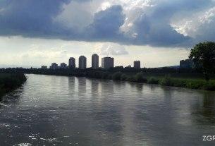 rijeka sava - cvjetno naselje, zagreb - svibanj 2013.