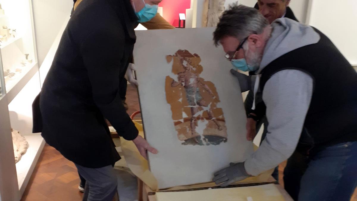 arheološki muzej - zaštita freski iz andautonije - 2020