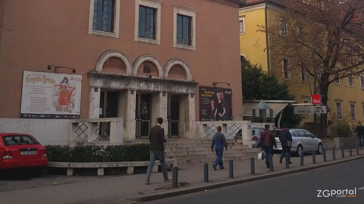 kazalište komedija zagreb / studeni 2016.