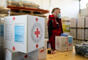 paket pomoći - hrvatski crveni križ - 2020
