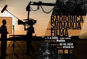 radionica snimanja filma - filmski studio medika - 2020