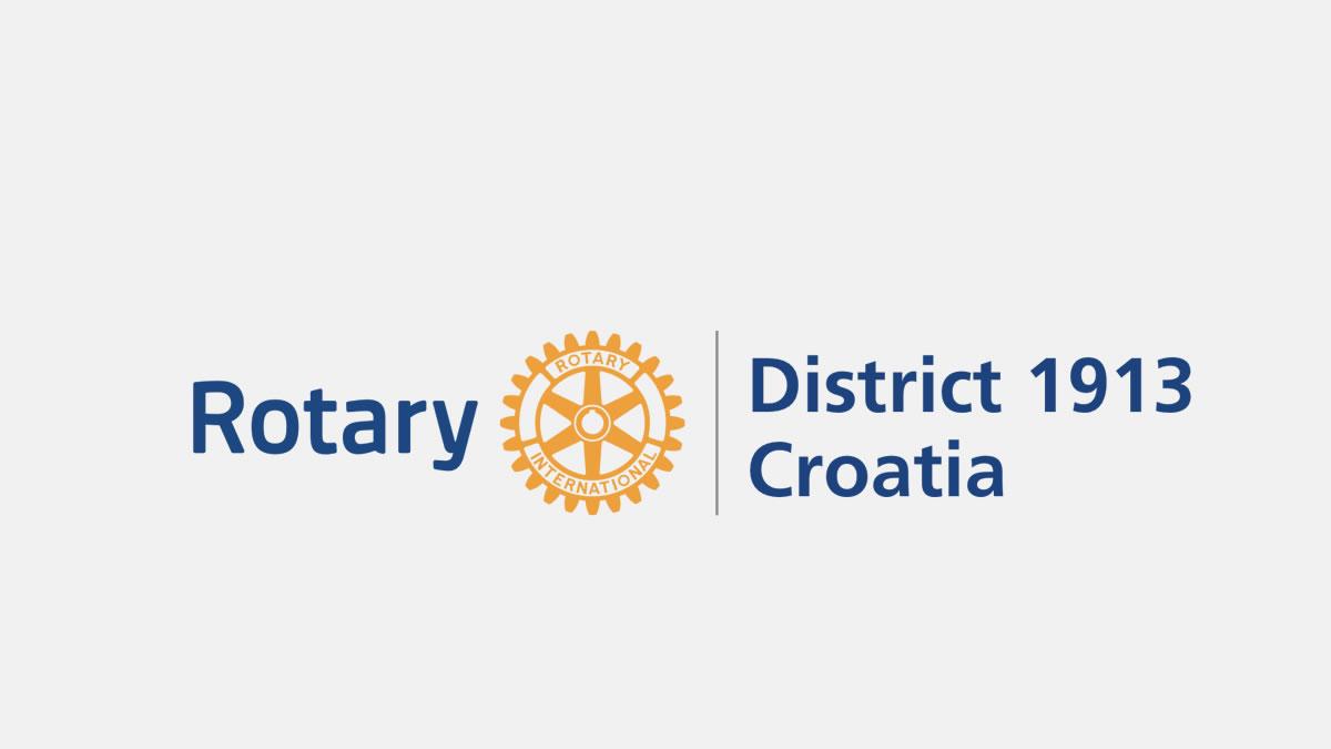 rotary croatia district 1913 - logo 2020