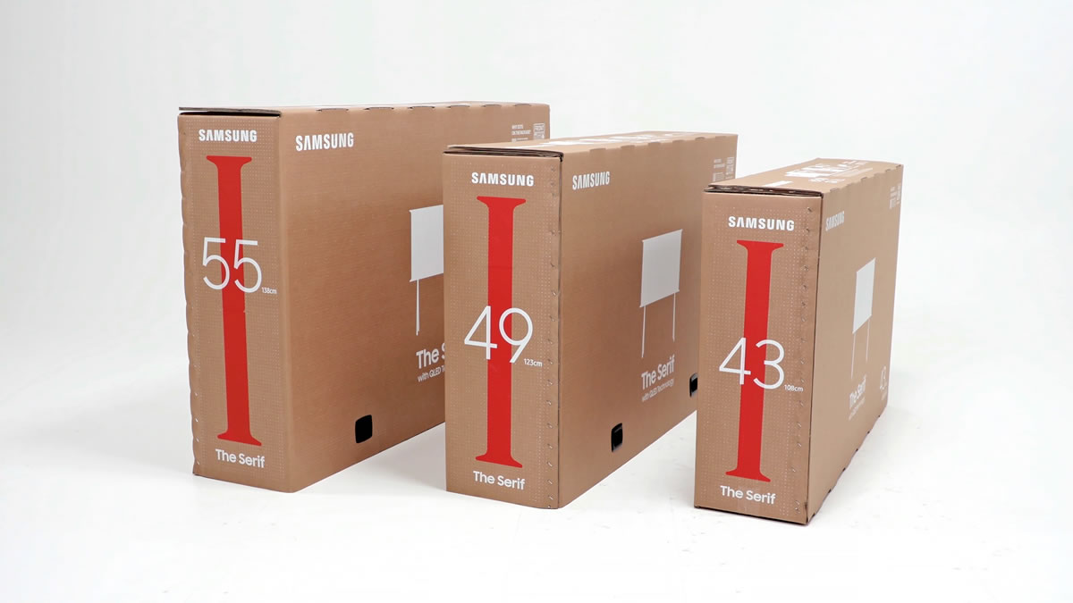 samsung eco friendly ambalaža kartonska kutija 2020