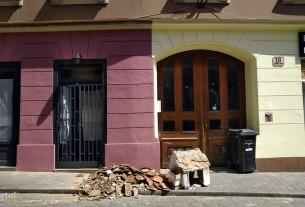 šteta od potresa - radićeva ulica, zagreb / travanj 2020.
