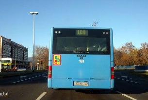 autobusna linija 109 - zet zagreb - man ng313 - studeni 2016.