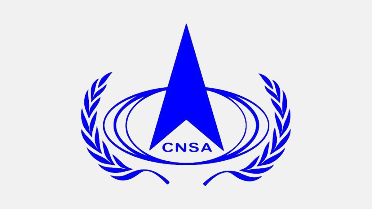 china national space administration - logo 2020