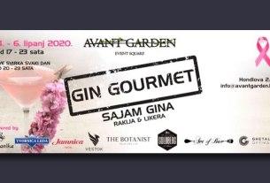 gin gourmet 2020 - avantgarden event square zagreb