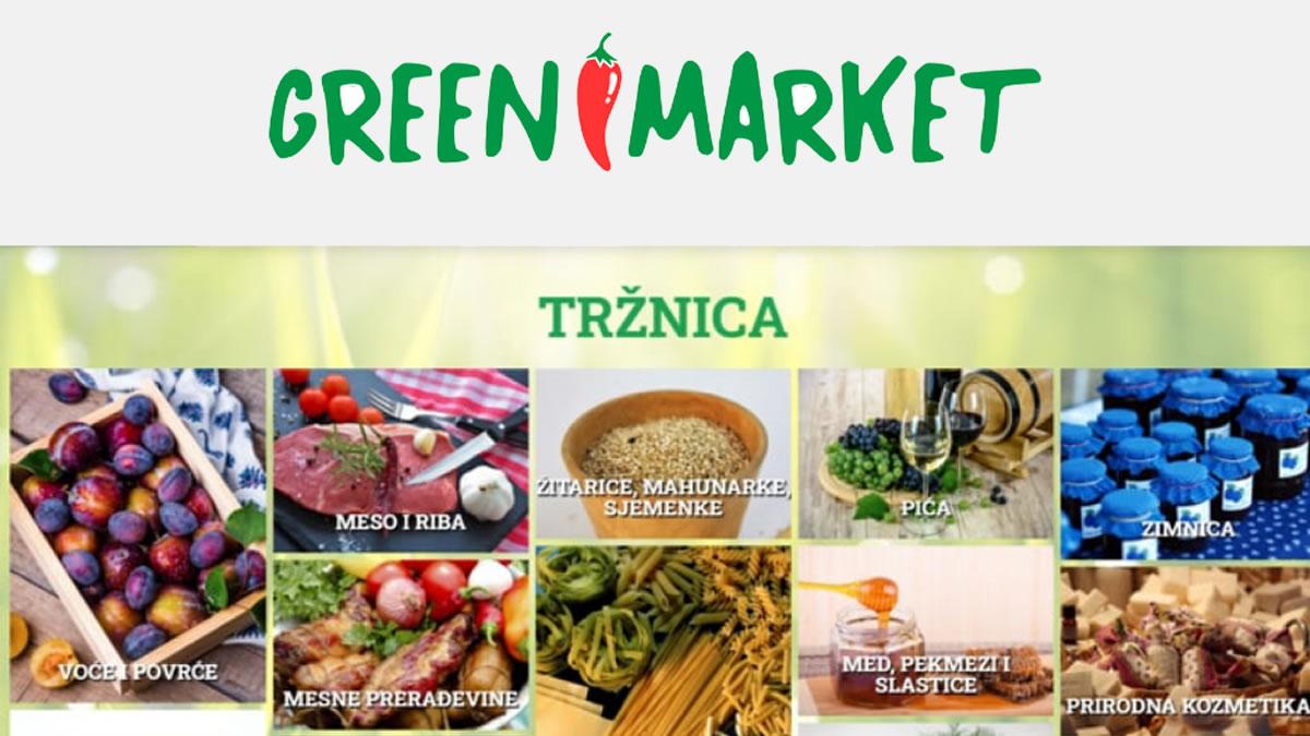 greenmarket.hr - virtualna tržnica - 2020