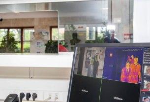 termovizija - prikaz rada termovizijske kamere - 2020