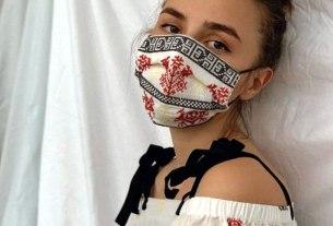 tradicijska zaštitna maska - posudionica i radionica narodnih nošnji - 2020