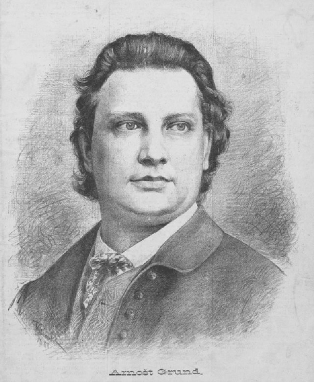 arnošt grund / 1866 - 1929 / jan vilímek
