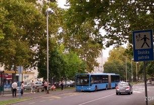 autobusna linija 220 - ulica svetog mateja, zagreb - kolovoz 2015.