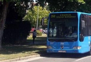 autobusna linija 268 zagreb (glavni kolodvor) - velika gorica - lipanj 2017.