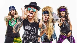 steel panther - glam metal band - los angeles - 2020.