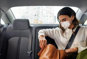 uber 2020 - zaštitna maska