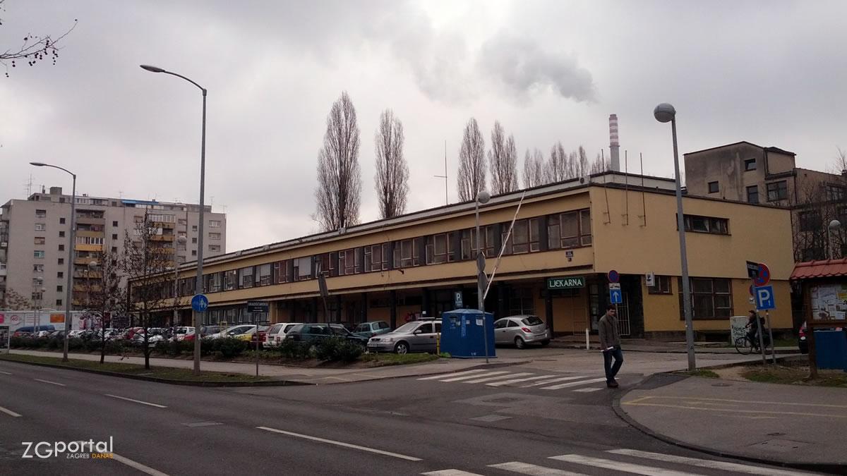 dom zdravlja zagreb zapad črnomerec - prilaz baruna filipovića - veljača 2015.
