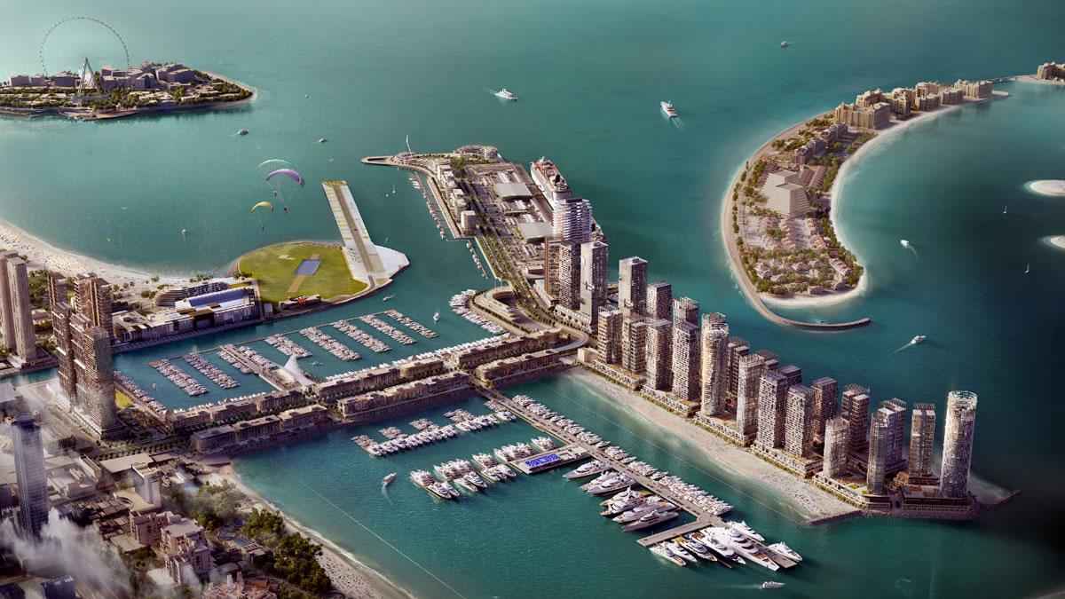 dubai harbour marina 2020