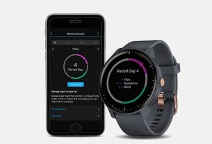 garmin - menstrual cycle tracking - garmin connect - 2020