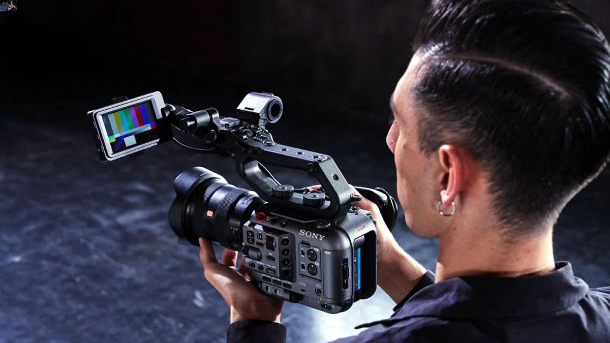 sony cinema line fx6 - digital camera - 2020